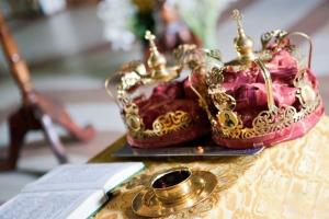 Обряд венчания состоит из 2 частей