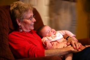 Как бабушке уйти в декрет