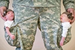 Выплачивает ли что то армия при рождении ребенка