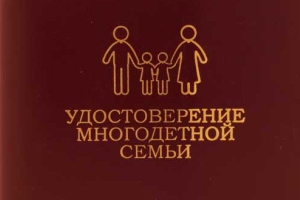 Какие документы нужны для удостоверения многодетной семьи