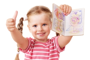 Какие документы нужны при вывозе внука за границу